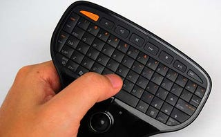 Illustration for article titled Lenovo's Multimedia Remote with Keyboard