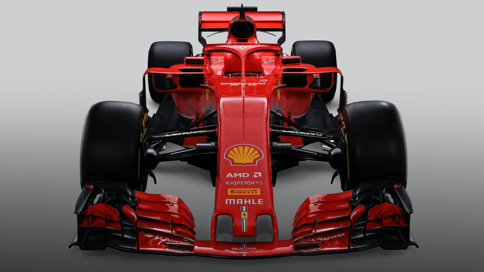 ferrari s new f1 car is extremely red. Black Bedroom Furniture Sets. Home Design Ideas