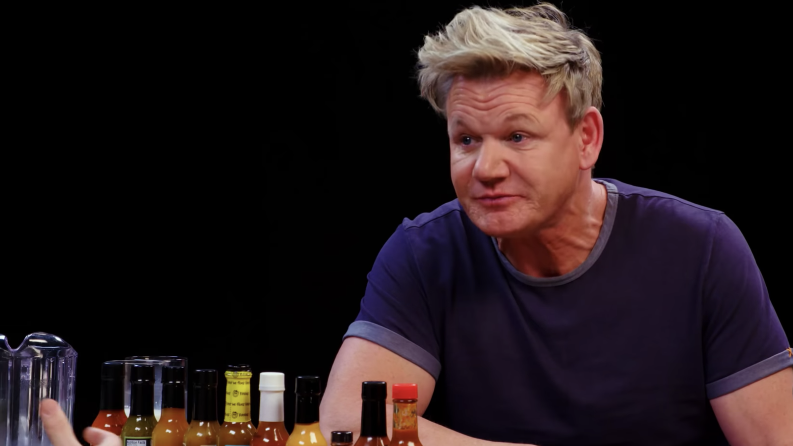Gordon Ramsey tells some spicy wings to fuck off