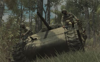 Illustration for article titled New Call Of Duty: World At War Screens