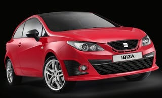 Illustration for article titled 2009 Seat Ibiza CUPRA Images Released, Details Waiting In Paris