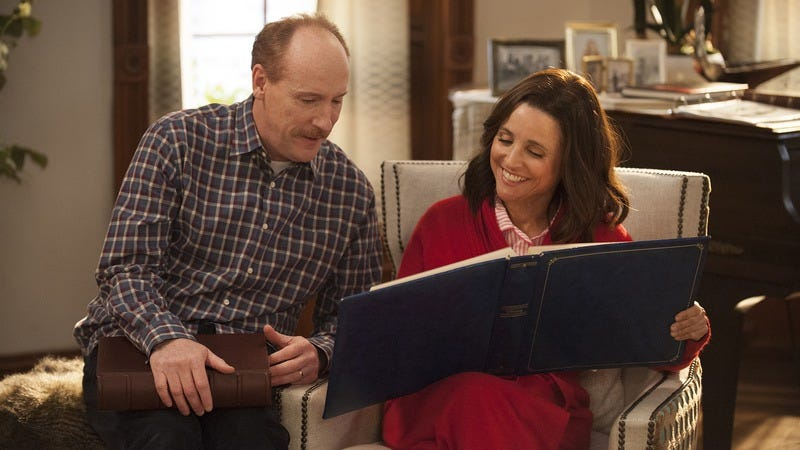 Matt Walsh and Julia Louis-Dreyfus (HBO)