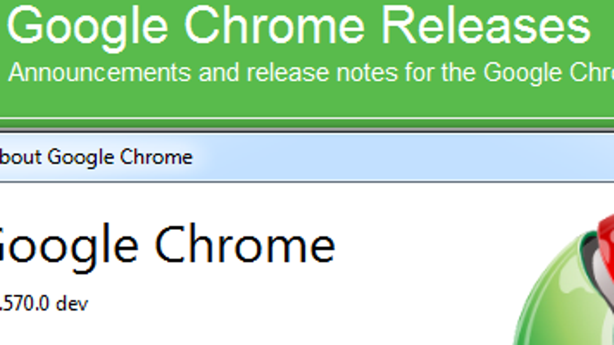 Chrome 9 Lands in Dev Channel with Numerous Little Tweaks