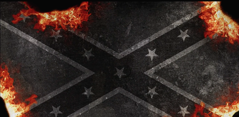 John Sims Projects Burn and Bury Confederate Flag Digital Support Kit