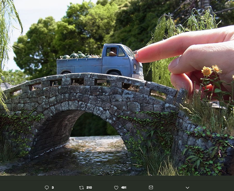 Illustration for article titled Super Realistic Japanese Dioramas