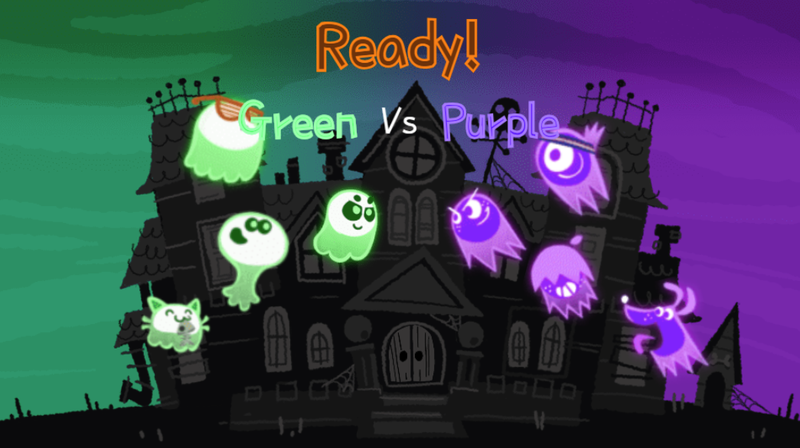 Illustration for article titled Google's Homepage Is Now A Clever Multiplayer Halloween Game