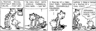 Illustration for article titled Calvin and Hobbes creator's new comic strips are now for sale