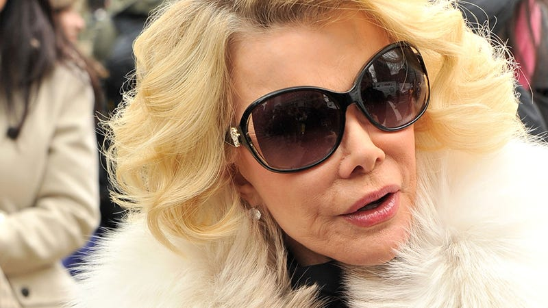 Illustration for article titled Report: Joan Rivers' Doctor Took Selfie During Unauthorized Biopsy