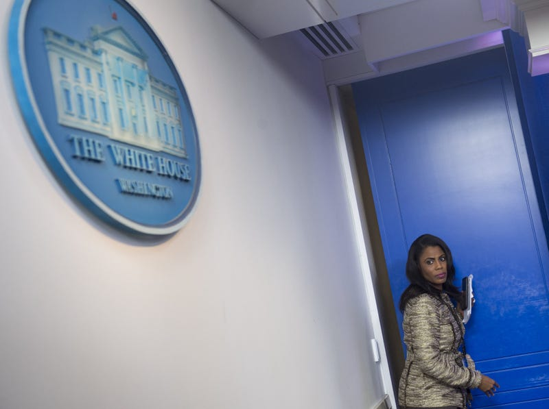 Omarosa Manigault reportedly said the Trump administration is compiling 'dossiers' on journalists