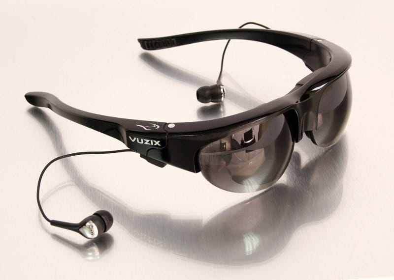 "56c8988a7 Illustration for article titled Vuzix Wrap 920AV Video Sunglasses Feature  ""See-Thru"""
