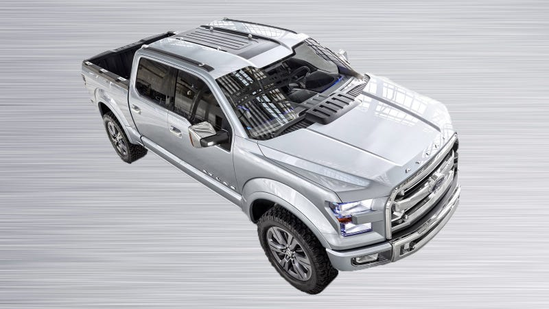 Illustration for article titled Ford Reportedly Showcasing Military Aluminum At 2015 Ford F-150 Launch