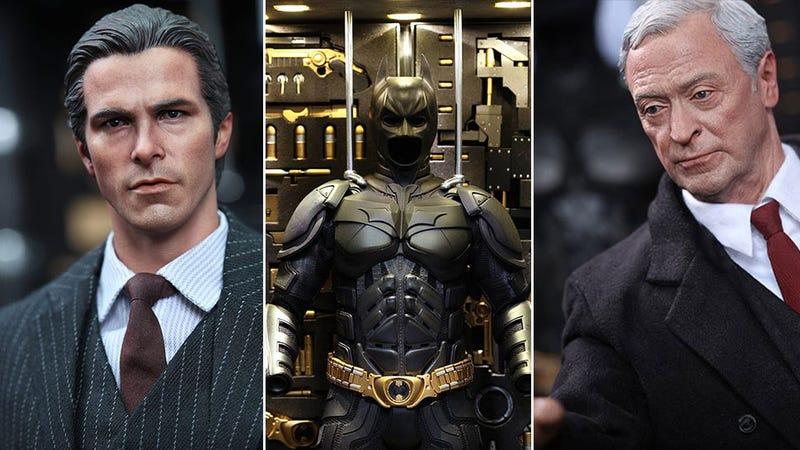 Illustration for article titled Batman Figures Look Like Real, Tiny Batman Actors