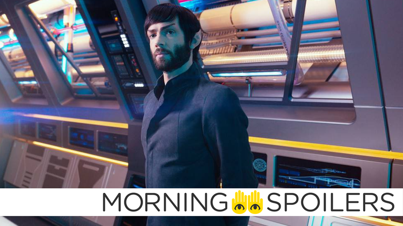 More like Panic! At the Discovery, am I right, Young Spock?.