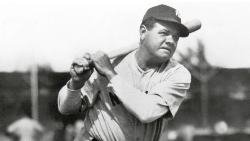 Illustration for article titled The Greatest Of All Time: A Statistical Portrait Of Babe Ruth