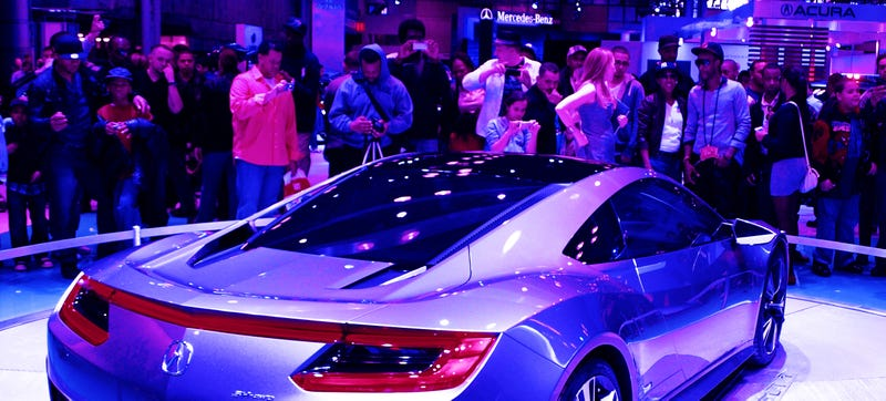 A shot I took of the NSX concept (?) at the New York Auto Show back in 2012. Are you in this picture? Maybe! Photo Credit: Raphael Orlove
