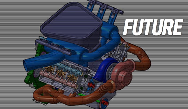 Illustration for article titled Next Year's F1 Cars Will Develop The Hybrid/Turbo Tech Of The Future