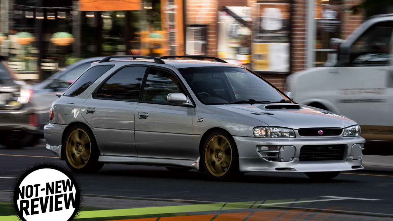 2000 subaru impreza wagon review