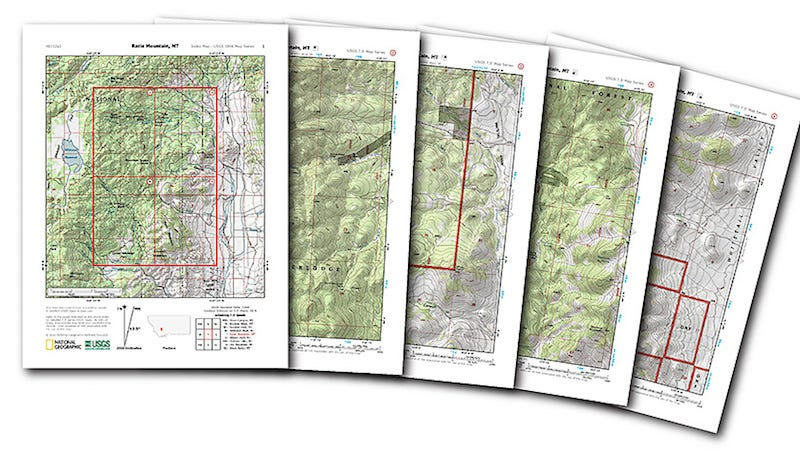 Download and Print Your Own Topographical Maps from National – To and from Maps