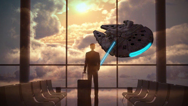 Illustration for article titled Jedi-Approved Productivity Tricks for the Business Traveler