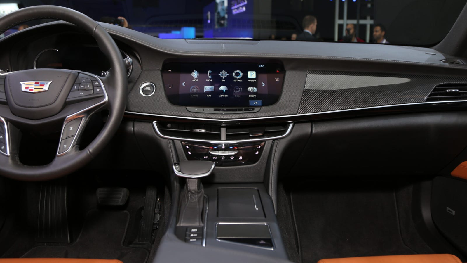 the 2016 cadillac ct6 39 s interior dials down the crazy and that 39 s good