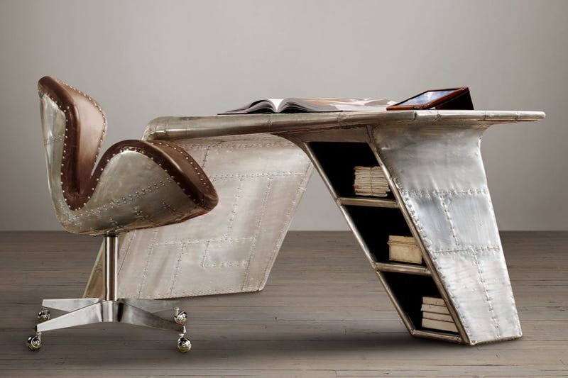 broyhill airplane wing desk 2