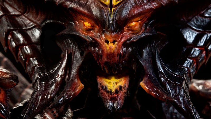 Illustration for article titled A Statue of Diablo Itself? That'll Cost Ya.
