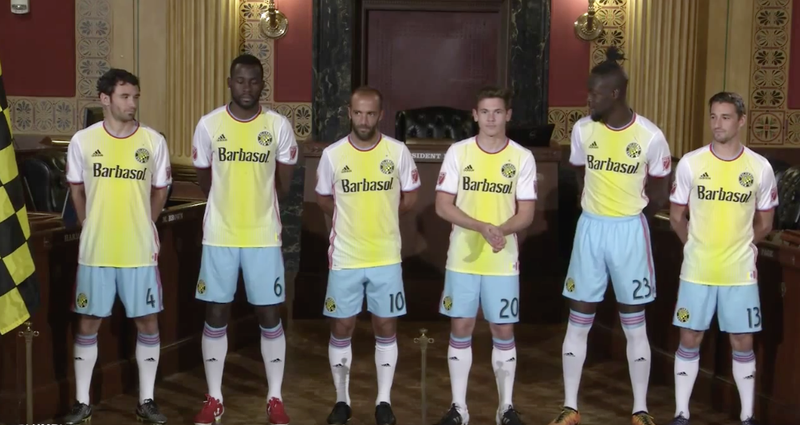 Illustration for article titled Columbus Crew Unveil New Kit, And...Hmmm.