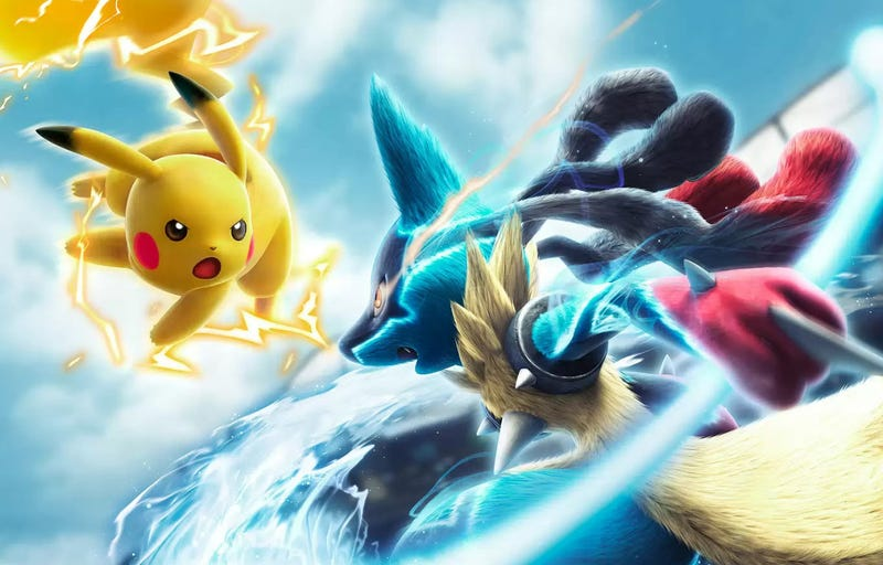Illustration for article titled Pokkén Tournament is The Pokémon Game I Always Wanted