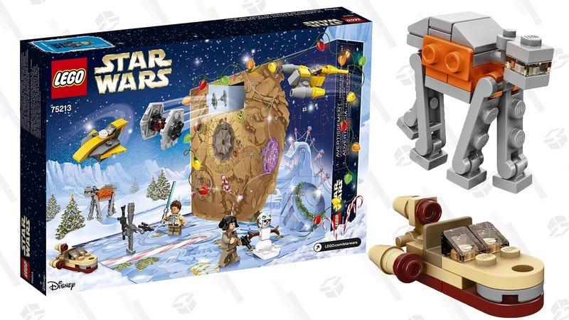 LEGO Star Wars 2018 Advent Calendar   $34   Amazon