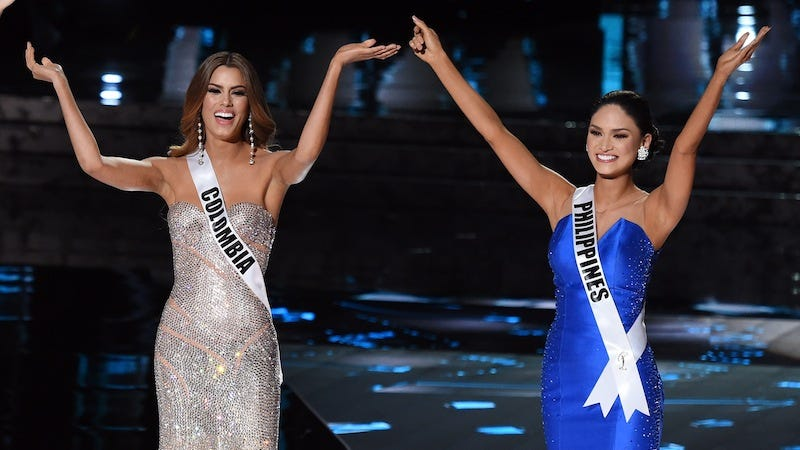 Illustration for article titled Miss Philippines Sends Message to Miss Colombia: 'We Are Now Bonded'