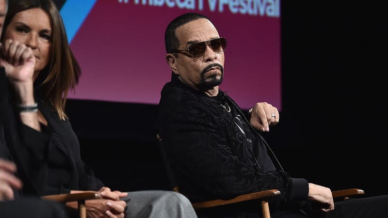 "Ice-T speaks onstage at the ""Law & Order: SVU"" 20th Anniversary Celebration the 2018 Tribeca TV Festival on September 20, 2018 in New York City."