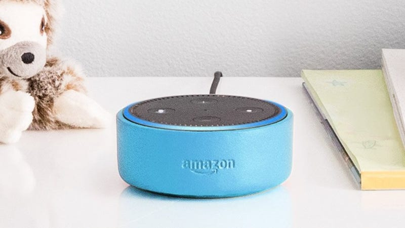 Illustration for article titled Amazon Echo That Records Kids Draws Concern From U.S. Lawmakers