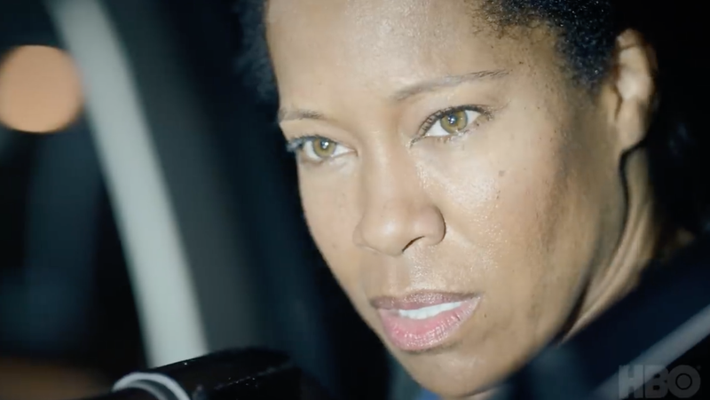 Regina King plays a cop in Watchmen.