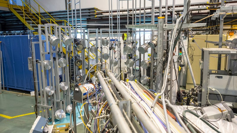 The ISOLDE experiment will receive the portable antimatter (Image: CERN)
