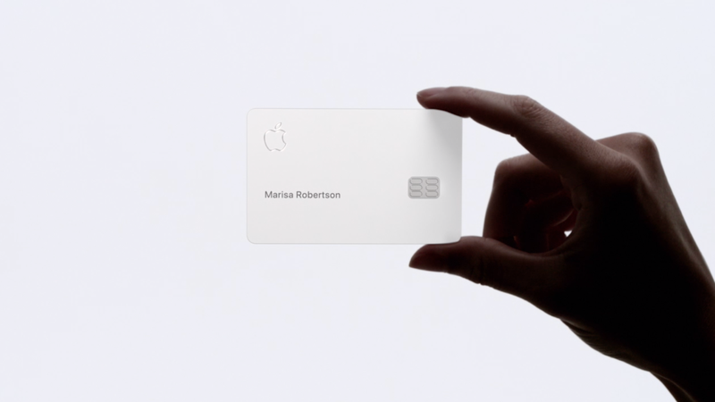 Illustration for article titled Apple: Our Precious Credit Card Must Be Handled Like a Delicate Flower From Heaven