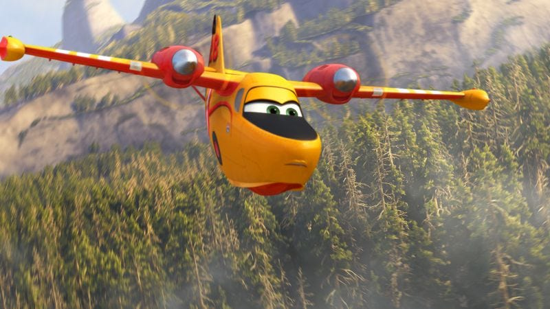 Illustration for article titled Fire & Rescue improves on Planes, while still flying well below Pixar standards