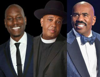 Tyrese; Rev. Run; Steve HarveyOWN; OWN; Moses Robinson/Getty Images for Neighborhood Awards