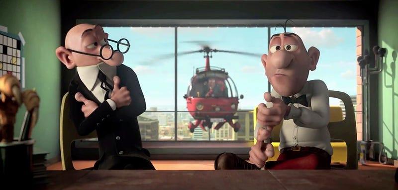 Illustration for article titled La nueva película de Mortadelo y Filemón en 3D ya tiene tráiler