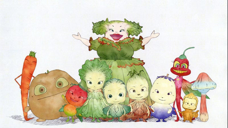 Illustration for article titled Forget Final Fantasy for a Minute, These Vegetable Fairies Are Magical