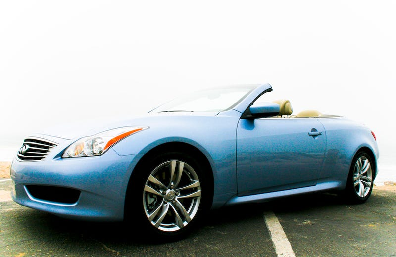 Illustration for article titled 2009 Infiniti G37 Convertible: First Drive