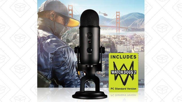 Buy a Blue Yeti Microphone For $89, Get a Copy of Watch Dogs 2 Free