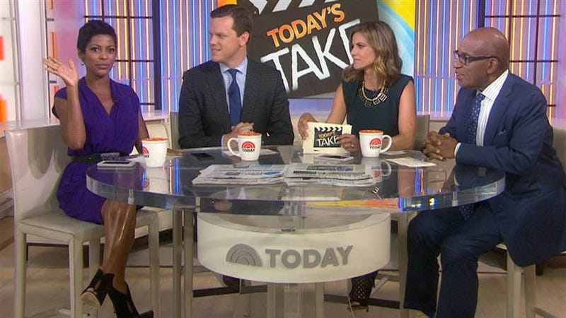 "Tamron Hall, left, and Al Roker, right, would leave the third hour of the ""Today"" show. (NBC)"