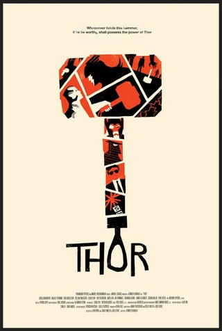 Illustration for article titled Alternative Thor Poster for cast and crew
