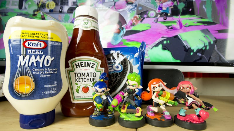 Illustration for article titled Let's Settle Splatoon's Mayo vs. Ketchup War, With Science
