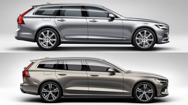 Here S How The Volvo V90 Compares To The New Volvo V60