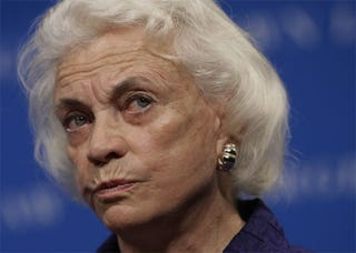 Illustration for article titled Sandra Day O'Connor Is Silently Judging You