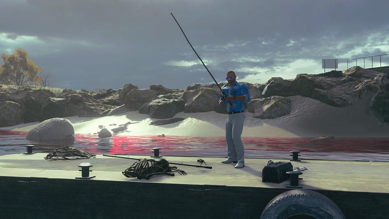You Can Now Go Fishing In Black Ops 4's Battle Royale Mode, But It's Dangerous