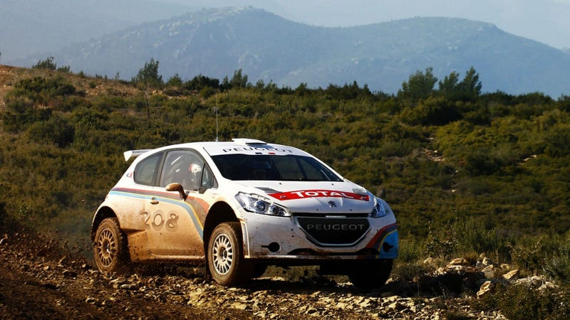 Peugeot\'s New Rally Car Is Dirty And French