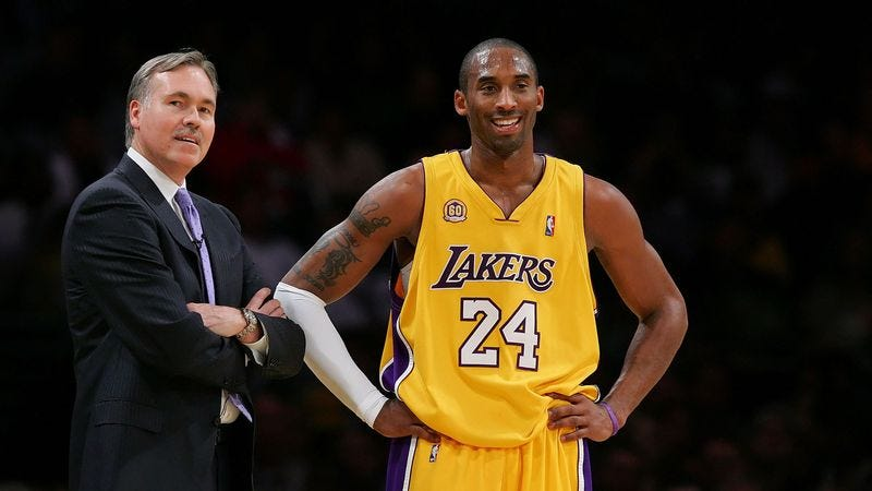 Illustration for article titled Cool New Lakers Coach Doesn't Make Team Play Defense