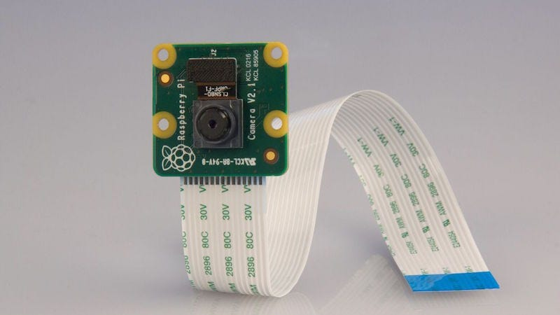 Illustration for article titled The Raspberry Pi Camera Module Gets Upgraded to 8-Megapixels, Still Costs $25